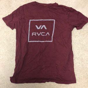 Men's RVCA shirt.
